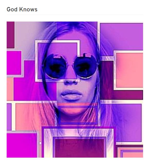 XTCFLWR GOD KNOWS